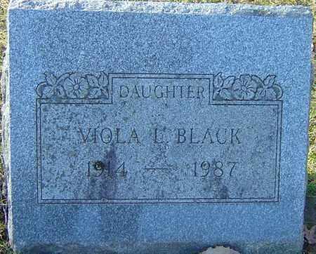BLACK, VIOLA L - Franklin County, Ohio | VIOLA L BLACK - Ohio Gravestone Photos