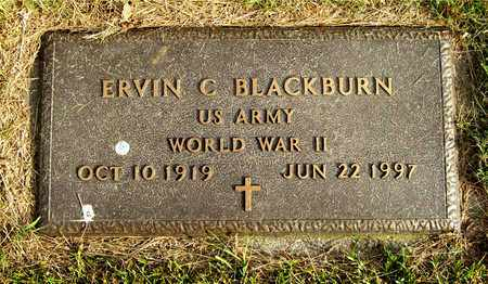 BLACKBURN, ERVIN C. - Franklin County, Ohio | ERVIN C. BLACKBURN - Ohio Gravestone Photos