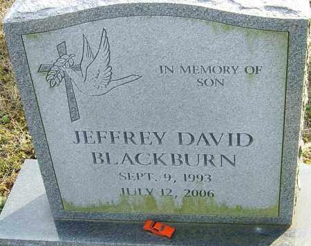 BLACKBURN, JEFFREY DAVID - Franklin County, Ohio | JEFFREY DAVID BLACKBURN - Ohio Gravestone Photos