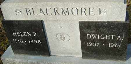 BLACKMORE, DWIGHT A - Franklin County, Ohio | DWIGHT A BLACKMORE - Ohio Gravestone Photos