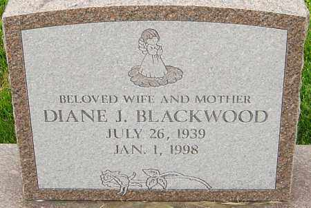BLACKWOOD, DIANE J - Franklin County, Ohio | DIANE J BLACKWOOD - Ohio Gravestone Photos