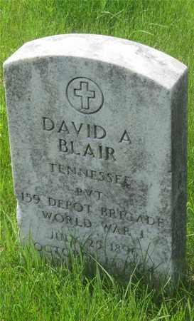 BLAIR, DAVID A. - Franklin County, Ohio   DAVID A. BLAIR - Ohio Gravestone Photos
