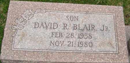 BLAIR JR., DAVID R - Franklin County, Ohio | DAVID R BLAIR JR. - Ohio Gravestone Photos