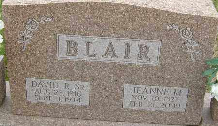 BLAIR, JEANNE M - Franklin County, Ohio | JEANNE M BLAIR - Ohio Gravestone Photos