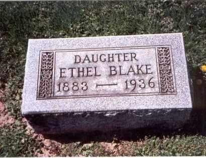 BLAKE, ETHEL - Franklin County, Ohio | ETHEL BLAKE - Ohio Gravestone Photos