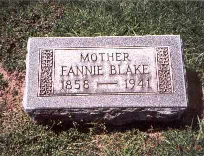 VAUSE BLAKE, FANNIE - Franklin County, Ohio | FANNIE VAUSE BLAKE - Ohio Gravestone Photos