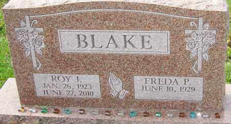 BLAKE, ROY J - Franklin County, Ohio | ROY J BLAKE - Ohio Gravestone Photos