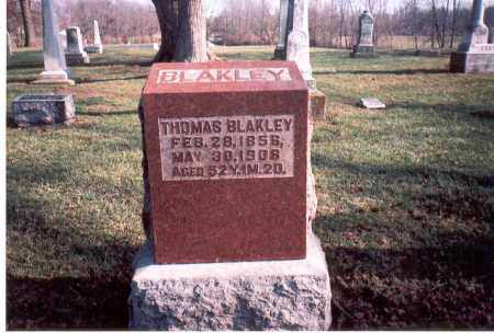 BLAKLEY, THOMAS - Franklin County, Ohio | THOMAS BLAKLEY - Ohio Gravestone Photos