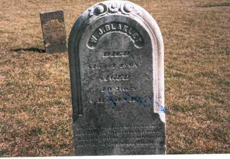 BLAKLEY, W.J. - Franklin County, Ohio | W.J. BLAKLEY - Ohio Gravestone Photos