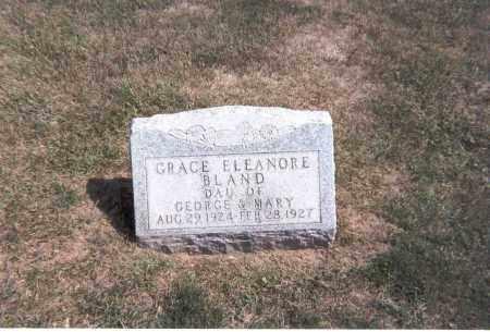 BLAND, GRACE ELEANORE - Franklin County, Ohio   GRACE ELEANORE BLAND - Ohio Gravestone Photos