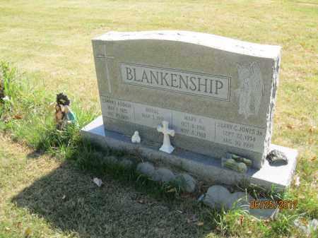 ADDAIR BLANKENSHIP, MARY JONES - Franklin County, Ohio   MARY JONES ADDAIR BLANKENSHIP - Ohio Gravestone Photos