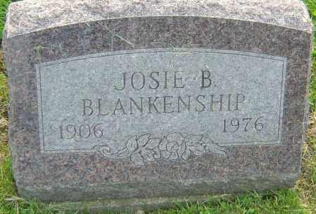 BLANKENSHIP, JOSIE B - Franklin County, Ohio   JOSIE B BLANKENSHIP - Ohio Gravestone Photos