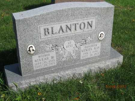 BLANTON, VENITA KAY - Franklin County, Ohio | VENITA KAY BLANTON - Ohio Gravestone Photos