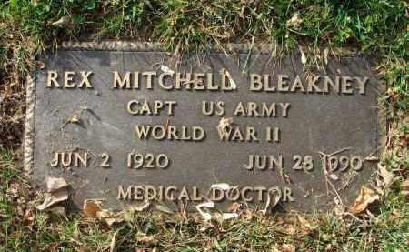 BLEAKNEY, REX MITCHELL - Franklin County, Ohio | REX MITCHELL BLEAKNEY - Ohio Gravestone Photos