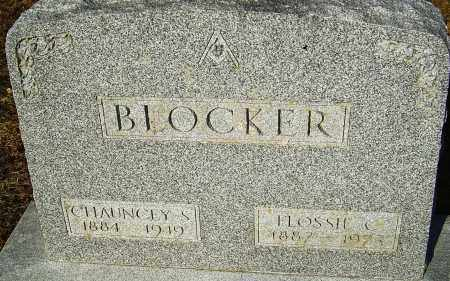 BLOCKER, CHAUNCEY - Franklin County, Ohio | CHAUNCEY BLOCKER - Ohio Gravestone Photos