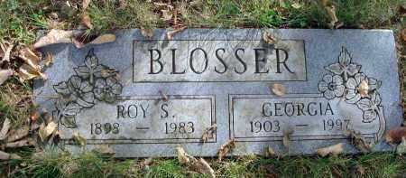 BLOSSER, ROY S. - Franklin County, Ohio | ROY S. BLOSSER - Ohio Gravestone Photos