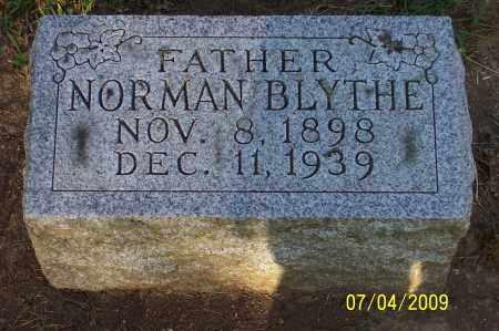 BLYTHE, NORMAN - Franklin County, Ohio   NORMAN BLYTHE - Ohio Gravestone Photos