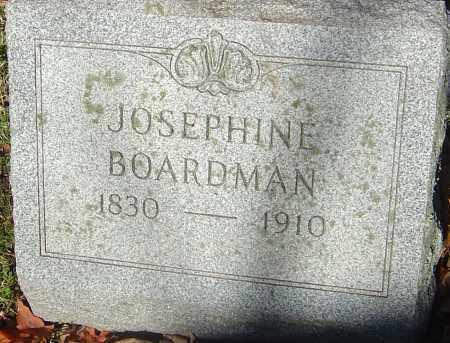 BOARDMAN, JOSEPHINE JULIA - Franklin County, Ohio | JOSEPHINE JULIA BOARDMAN - Ohio Gravestone Photos