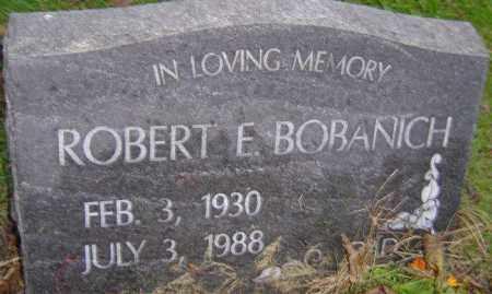 BOBANICH, ROBERT E - Franklin County, Ohio | ROBERT E BOBANICH - Ohio Gravestone Photos