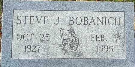 BOBANICH, STEVE J - Franklin County, Ohio   STEVE J BOBANICH - Ohio Gravestone Photos