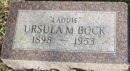 BOCK, URSULA - Franklin County, Ohio | URSULA BOCK - Ohio Gravestone Photos