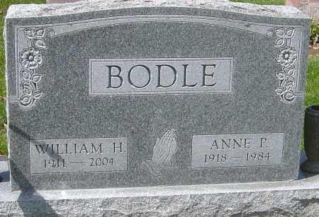 BODLE, ANNE P - Franklin County, Ohio | ANNE P BODLE - Ohio Gravestone Photos