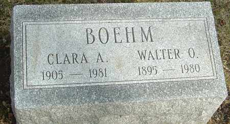 BOEHM, CLARA AMANDA - Franklin County, Ohio | CLARA AMANDA BOEHM - Ohio Gravestone Photos