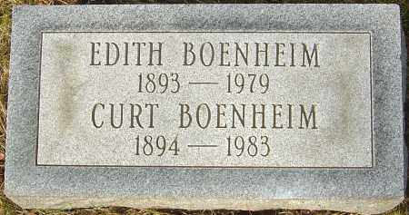 BOENHEIM, EDITH - Franklin County, Ohio | EDITH BOENHEIM - Ohio Gravestone Photos