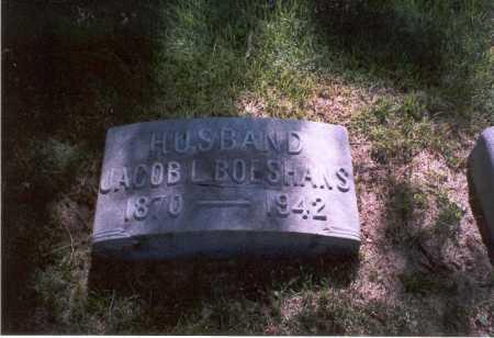 BOESHANS, JACOB L. - Franklin County, Ohio | JACOB L. BOESHANS - Ohio Gravestone Photos