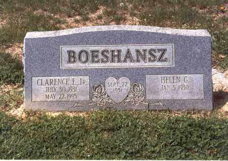 BOESHANSZ, JR., CLARENCE E., - Franklin County, Ohio | CLARENCE E., BOESHANSZ, JR. - Ohio Gravestone Photos