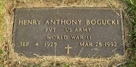BOGUCKI, HENRY ANTHONY - Franklin County, Ohio | HENRY ANTHONY BOGUCKI - Ohio Gravestone Photos