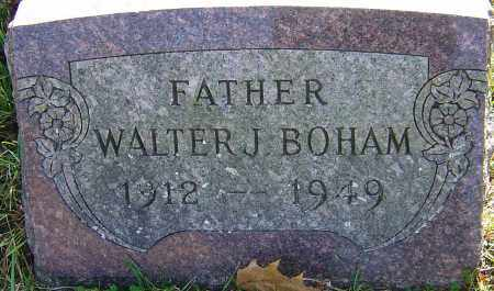 BOHAM, WALTER J - Franklin County, Ohio   WALTER J BOHAM - Ohio Gravestone Photos