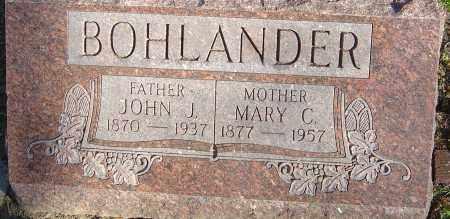 BOHLANDER, JOHN H - Franklin County, Ohio   JOHN H BOHLANDER - Ohio Gravestone Photos