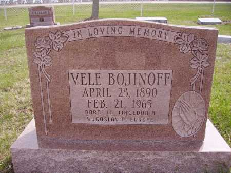 BOJINOFF, VELE - Franklin County, Ohio | VELE BOJINOFF - Ohio Gravestone Photos