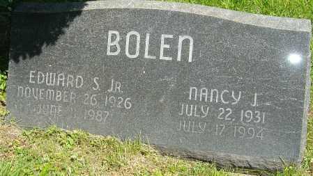 BOLEN, EDWARD S - Franklin County, Ohio   EDWARD S BOLEN - Ohio Gravestone Photos