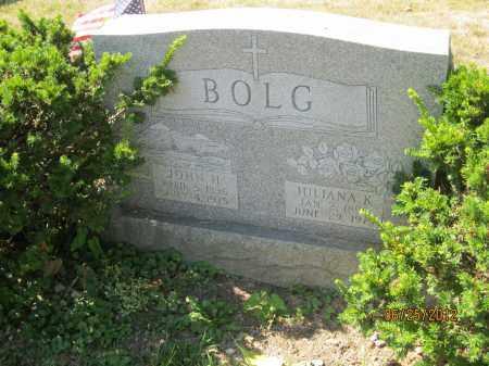 ZELLER BOLG, JULIANA K - Franklin County, Ohio   JULIANA K ZELLER BOLG - Ohio Gravestone Photos