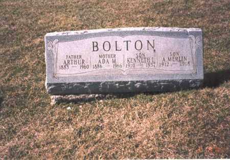 BOLTON, KENNETH L. - Franklin County, Ohio | KENNETH L. BOLTON - Ohio Gravestone Photos