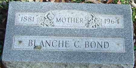 BOND, BLANCHE C - Franklin County, Ohio | BLANCHE C BOND - Ohio Gravestone Photos