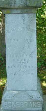 BONEBRAKE, HESTER A - Franklin County, Ohio | HESTER A BONEBRAKE - Ohio Gravestone Photos