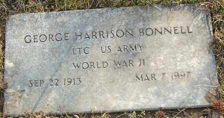 BONNELL JR, GEORGE HARRISON - Franklin County, Ohio | GEORGE HARRISON BONNELL JR - Ohio Gravestone Photos