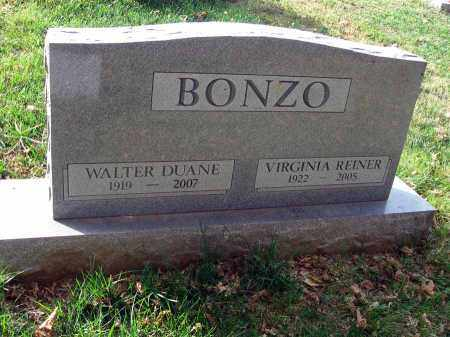 REINER BONZO, VIRGINIA - Franklin County, Ohio   VIRGINIA REINER BONZO - Ohio Gravestone Photos
