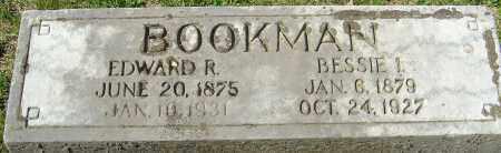 BOOKMAN, BESSIE INA - Franklin County, Ohio | BESSIE INA BOOKMAN - Ohio Gravestone Photos
