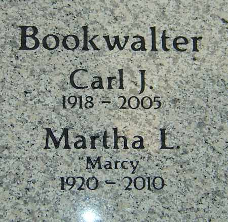 BOOKWALTER, MARTHA L - Franklin County, Ohio | MARTHA L BOOKWALTER - Ohio Gravestone Photos