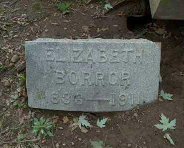 BORROR, ELIZABETH - Franklin County, Ohio | ELIZABETH BORROR - Ohio Gravestone Photos