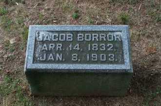 BORROR, JACOB - Franklin County, Ohio | JACOB BORROR - Ohio Gravestone Photos