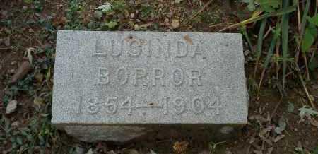 BRECKENRIDGE BORROR, LUCINDA - Franklin County, Ohio | LUCINDA BRECKENRIDGE BORROR - Ohio Gravestone Photos