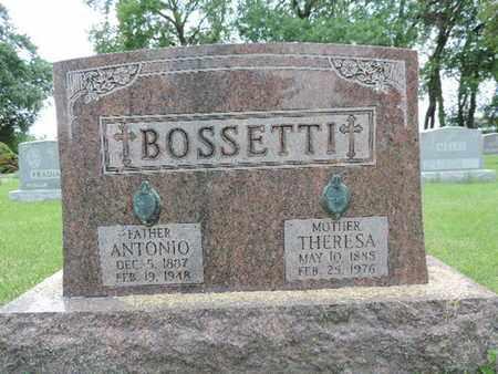 BOSSETTI, ANTONIO - Franklin County, Ohio | ANTONIO BOSSETTI - Ohio Gravestone Photos