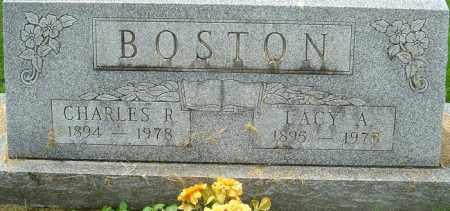 BOSTON, LACY A - Franklin County, Ohio | LACY A BOSTON - Ohio Gravestone Photos