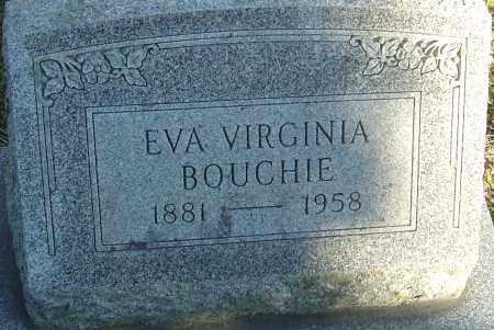 BOUCHIE, EVA VIRGINIA - Franklin County, Ohio | EVA VIRGINIA BOUCHIE - Ohio Gravestone Photos