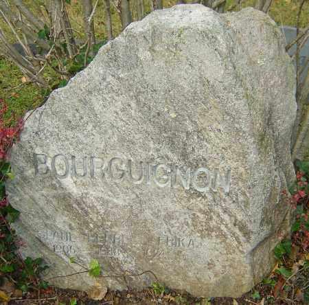 BOURGUIGNON, PAUL HENRI - Franklin County, Ohio | PAUL HENRI BOURGUIGNON - Ohio Gravestone Photos